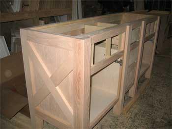 Custom cabinet for bathroom & Lorraine Alexander Interiors cabinet design Sonoma CountyCA