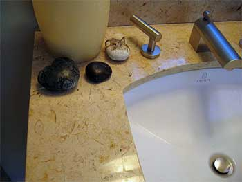 Interior design and remodel, sink detail